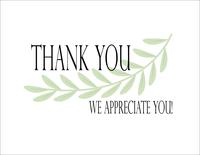 Greenery - Thank You
