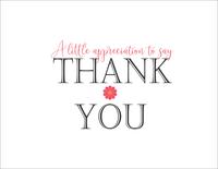 Little Flower - Thank You