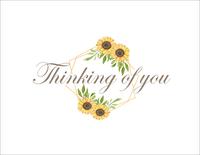Sunflower - Thinking of You